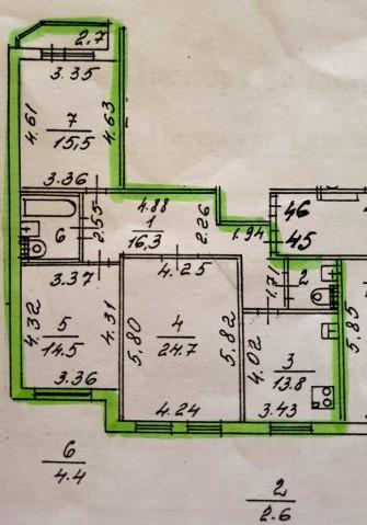 Продажа 3х к. квартиры ул. Гаккелевская, 18 корп. 3 - фото 8 из 10