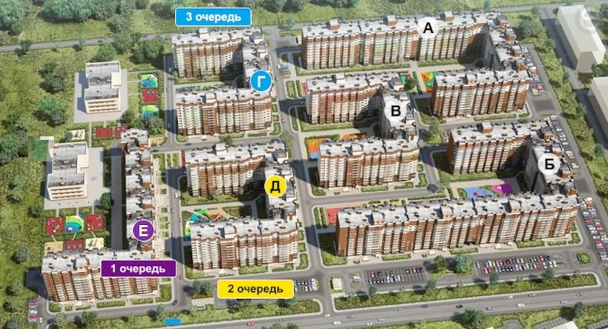 Продажа 2х к. квартиры гп Янино-1, ул. Голландская - фото 2 из 3