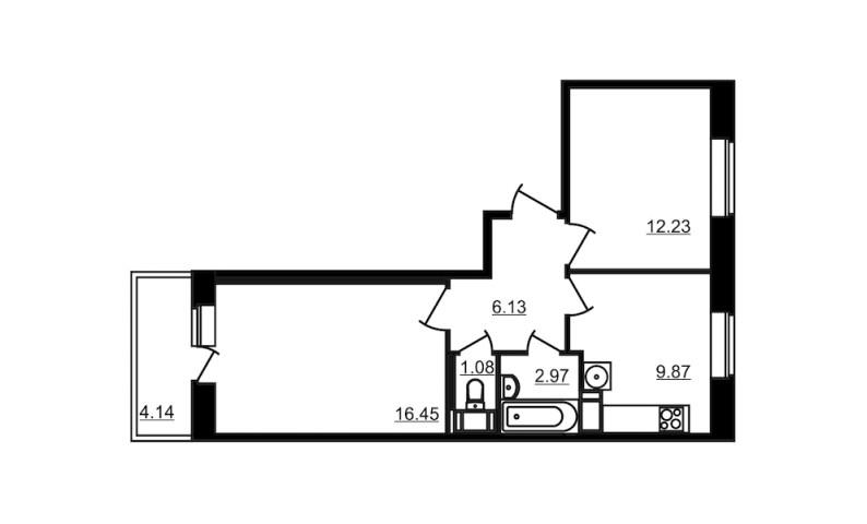 Продажа 2х к. квартиры гп Янино-1, ул. Голландская - фото 1 из 3