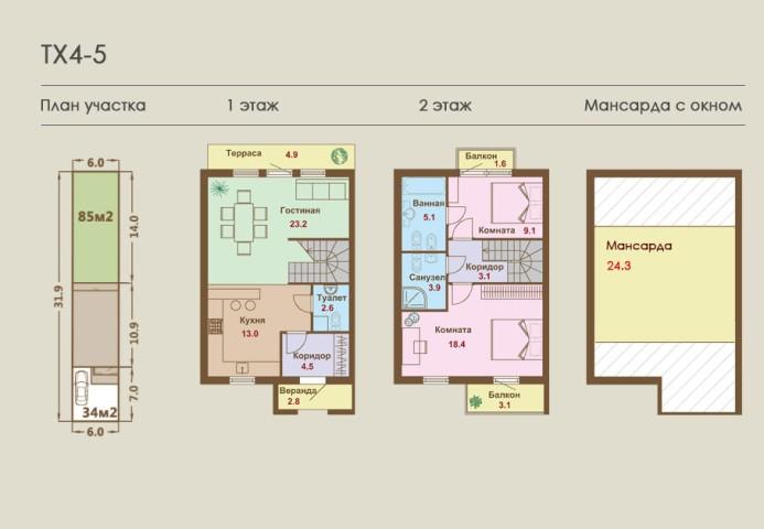 Продажа дома деревня Верхние Венки, ул. Мельничная, 26 - фото 3 из 8
