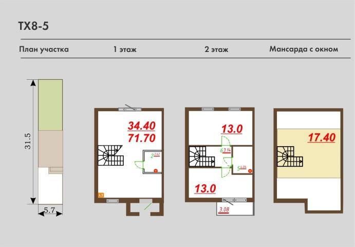 Продажа дома деревня Верхние Венки, ул. Мельничная, 66 - фото 7 из 7