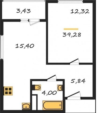 Продажа 1 к. квартиры г Мурино, Ручьевский проспект, 9 - фото 1 из 6