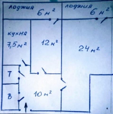 Продажа 2х к. квартиры пр-кт Славы, 5 - фото 2 из 7