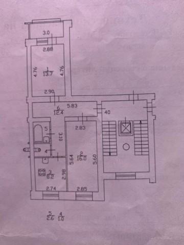 Продажа 2х к. квартиры 2-й Муринский пр-кт, 3 корп. 2 - фото 1 из 4