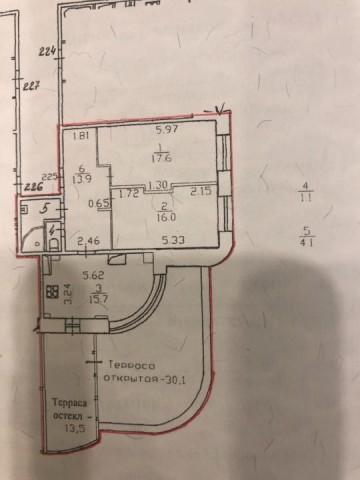 Продажа 2х к. квартиры пр-кт Наставников, 36 корп. 2 - фото 2 из 7
