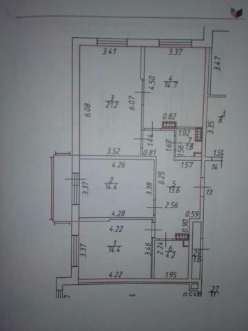 Продажа 3х к. квартиры Балтийский б-р, 4 - фото 7 из 7