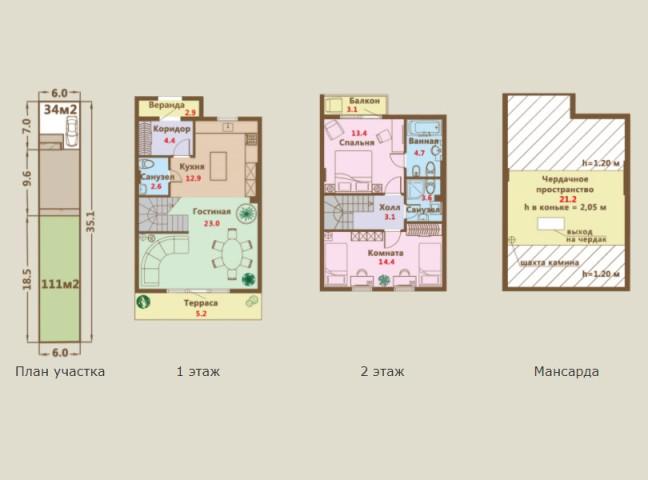 Продажа дома деревня Верхние Венки, ул. Мельничная, 65 - фото 1 из 7