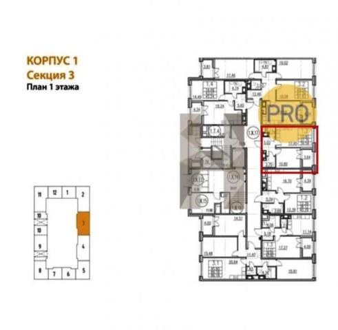 Продажа 1 к. квартиры Петровский пр-кт, 26 - фото 4 из 4