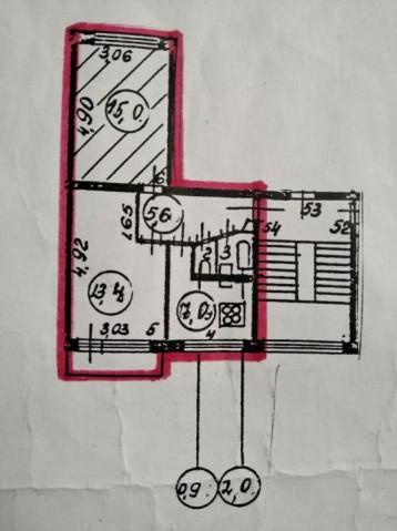 Продажа комнаты ул. Замшина, 54 - фото 3 из 3