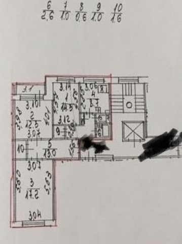 Продажа 3х к. квартиры ул. Джона Рида, 2 корп. 1 - фото 5 из 5