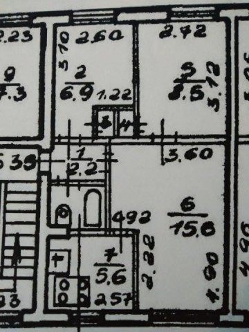 Продажа 3х к. квартиры Трамвайный пр-кт, 17 - фото 5 из 5
