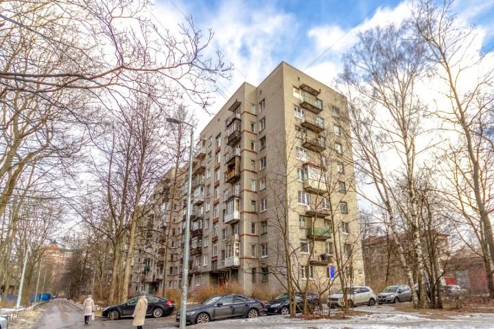 Продажа 1 к. квартиры пр-кт Тореза, 102 корп. 5 - фото 10 из 13