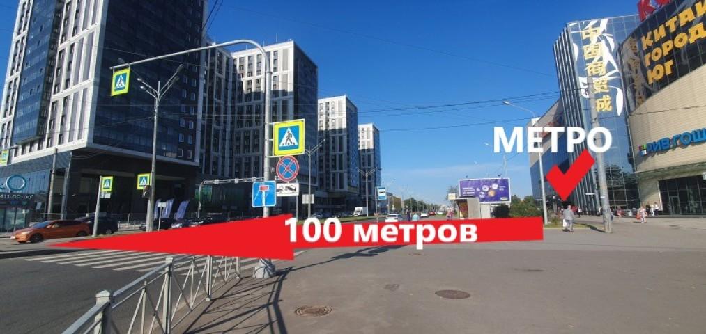 Аренда 1 к. квартиры ул. Салова, 61 корп. 1 - фото 16 из 16