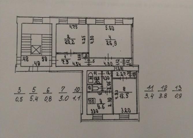 Продажа 3х к. квартиры пр-кт Большой В.О., 74 - фото 14 из 15